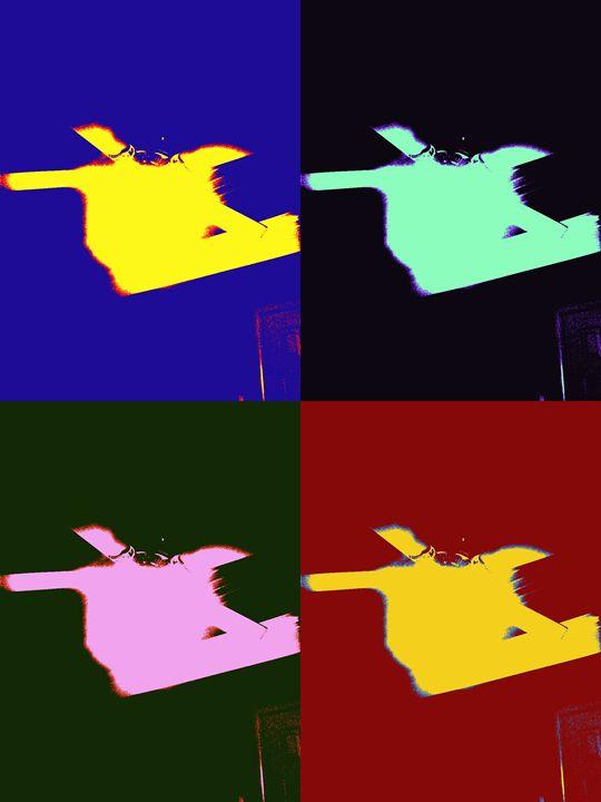 Abstract fan #2 - Paul Wells