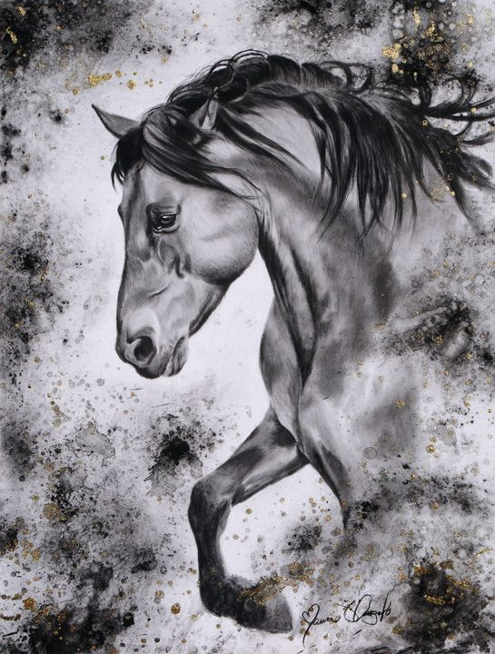 Ancient Thunder - Maria D'Angelo - Fine Art