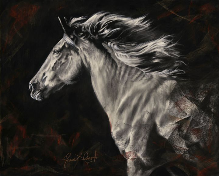 Spirit of the Plains - Maria D'Angelo - Fine Art