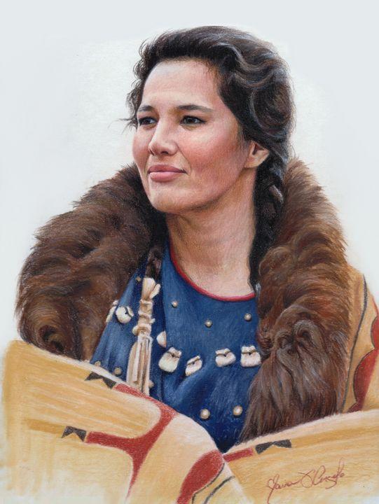 Wówaš'ake - Strength, Lakota - Maria D'Angelo - Fine Art