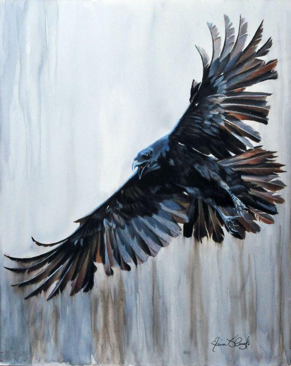 In Flight - Maria D'Angelo - Fine Art