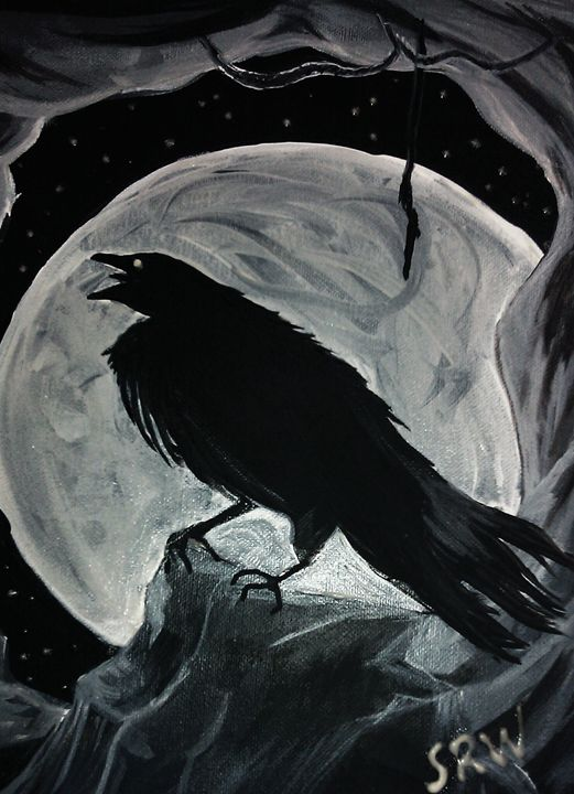Full Moon Crow - Three Girls