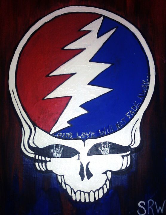 Grateful Dead Steal Your Face - Three Girls