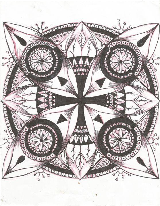 cross flower - david