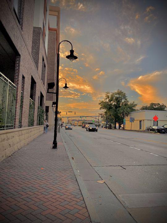 Sunset sky - Taylor Levix