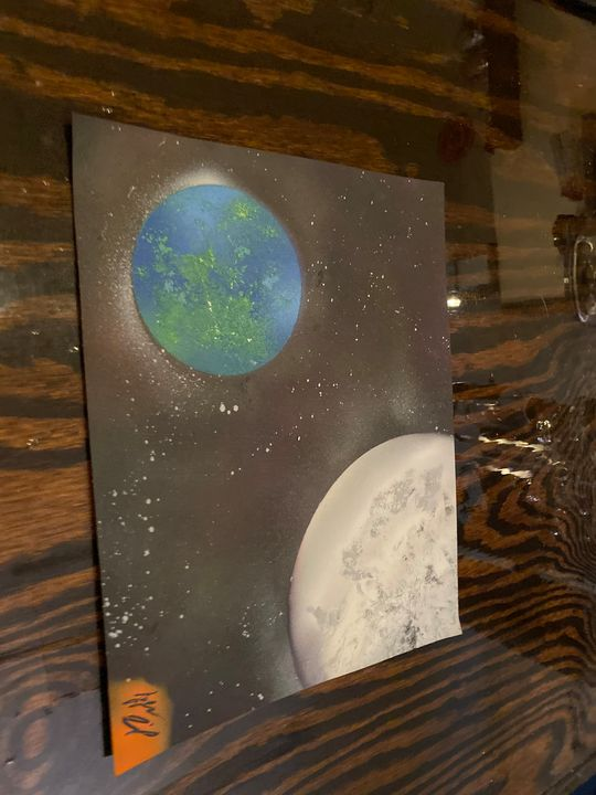 Earth and beyond - Taylor Levix