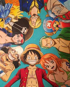 Anime One Piece drawing