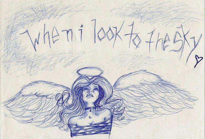 Bound Angel - Li'l Bee Art
