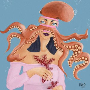 Spirit Animal Octopus