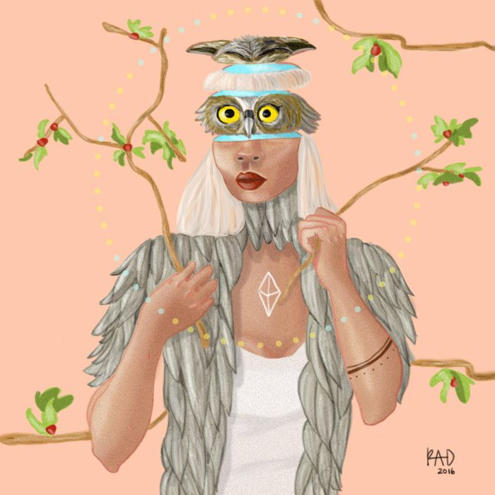 Spirit Animal Owl - Art For Rad