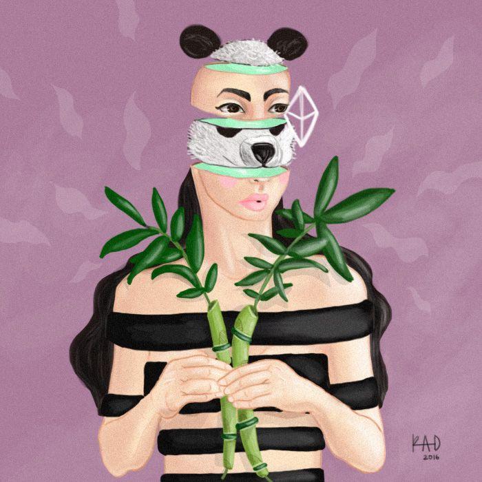 Spirit Animal Panda - Art For Rad