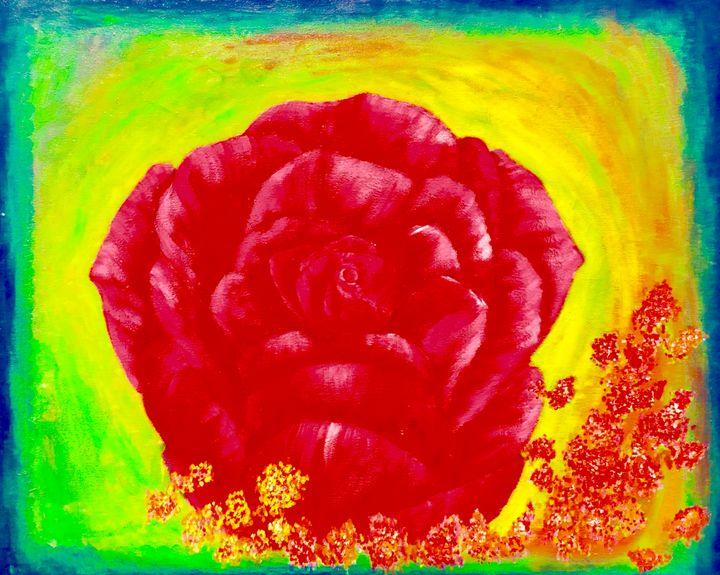 Rose - Nyunga art