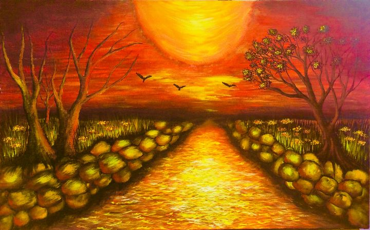 Sunset - Nyunga art
