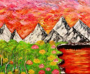 Pyramidal mountains