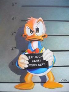 Donald Duck, BAD DUCK