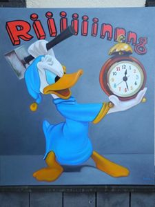 Donald Duck, riiiing