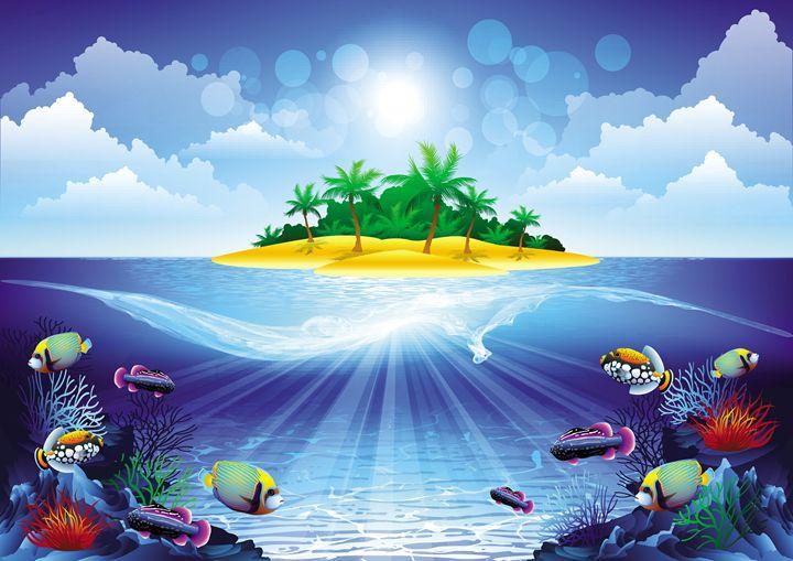 Tropical Island - 3D Elements