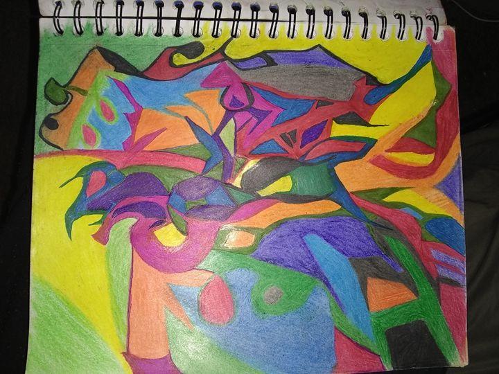 Sun - Thought form art