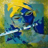 Krishna Painting - Acrylic on canvas