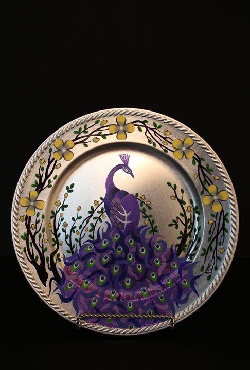 Decorative show piece - Peacock - Canvas Paintings