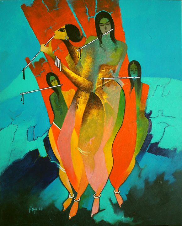 Joy in the Universe - Original Acryl - Canvas Paintings