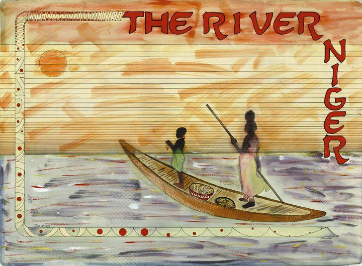 (The River Niger) - Bodile Nu Arts