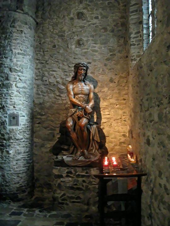 Jesus Christ statue - Alexandra Luiza Dahl