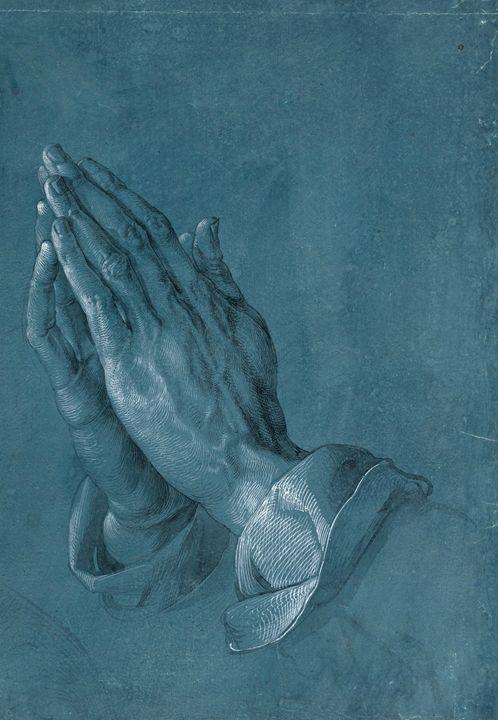 """""""Praying Hands"""" by Albrecht Dürer - Alexandra Luiza Dahl"""