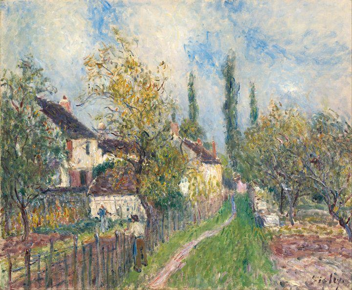 Alfred Sisley - A path at Les Sablon - Alexandra Luiza Dahl