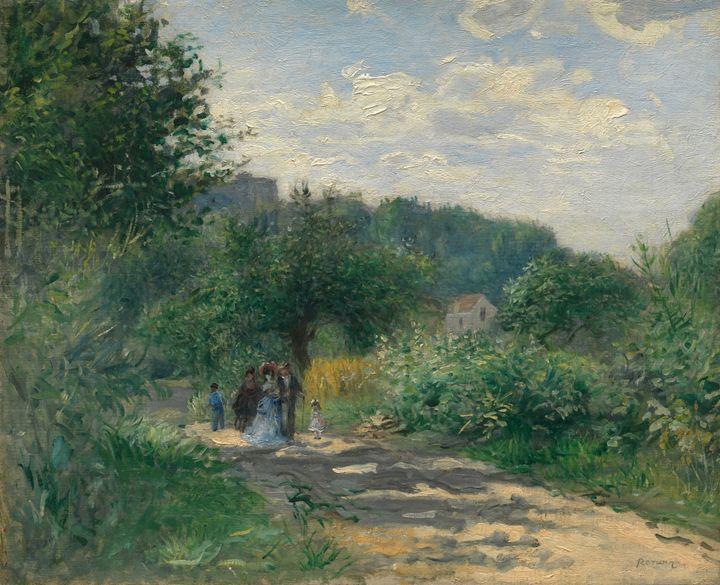 "Auguste Renoir ""A road..."" - Alexandra Luiza Dahl"