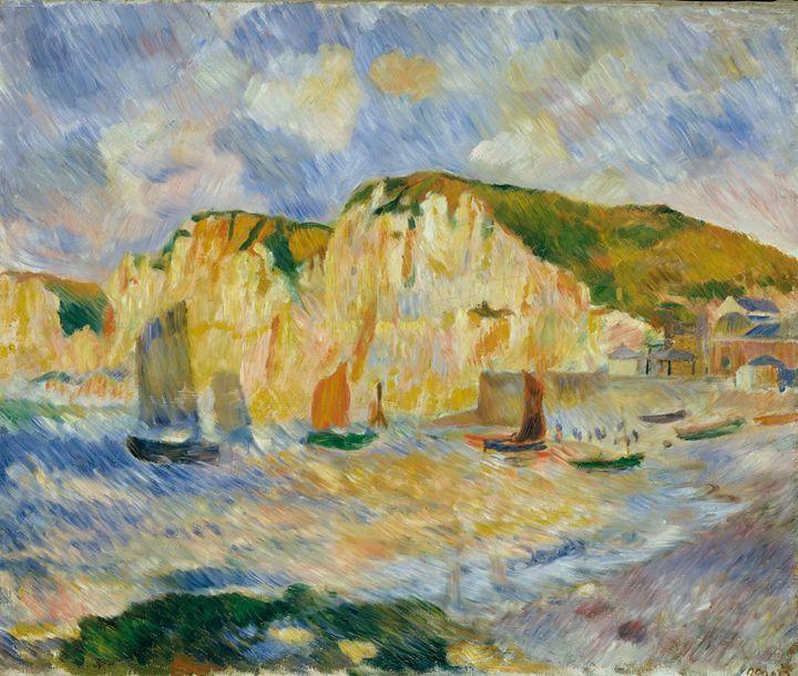 "Renoir ""Sea and Cliffs"" - Alexandra Luiza Dahl"