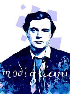 Portrait of Amedeo Modigliani 1.