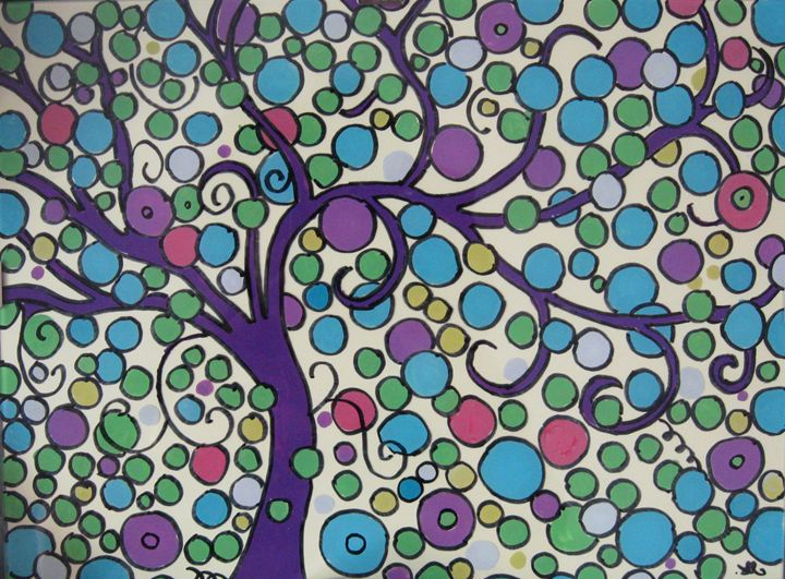 Feng-Shui tree - Alexandra Luiza Dahl