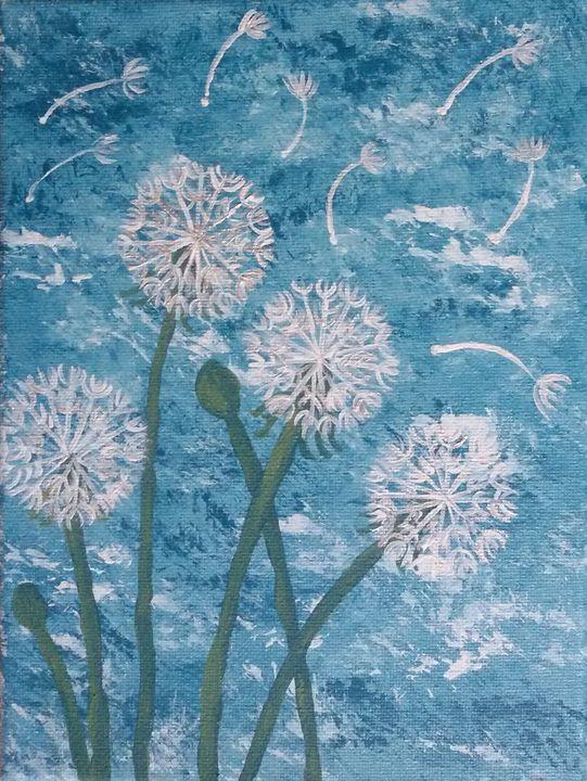 Dandelions Blowing in the Wind - Alexandra Luiza Dahl