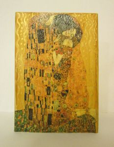 The Kiss - Klimt - Alexandra Luiza Dahl