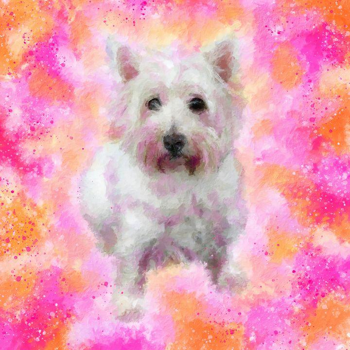 West Highland White Terrier 1. - Alexandra Arts
