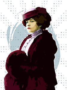 Portrait of Gabrielle Colette 3.