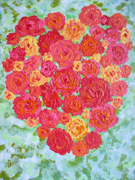 The heart of roses - Alexandra Luiza Dahl