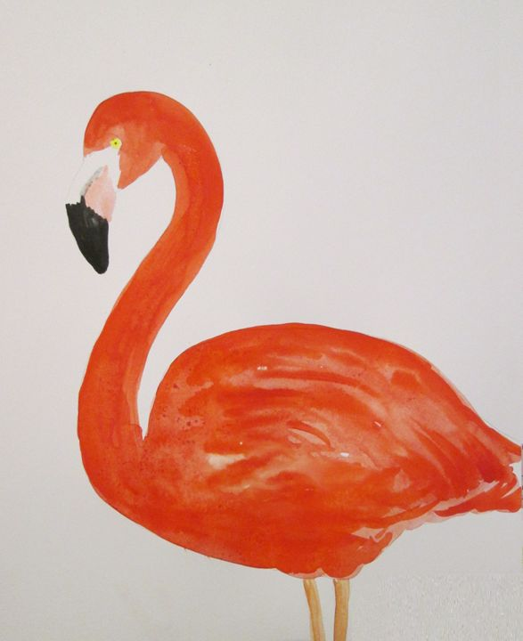 Flamingo beauty - Alexandra Luiza Dahl