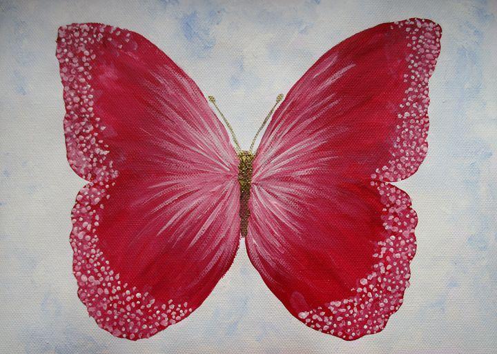 Beautiful pink butterfly - Alexandra Luiza Dahl