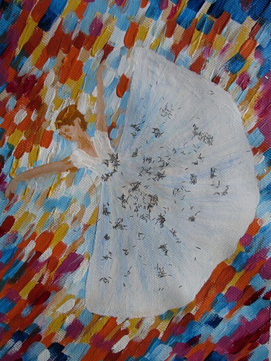 The glitter ballerina - Alexandra Luiza Dahl