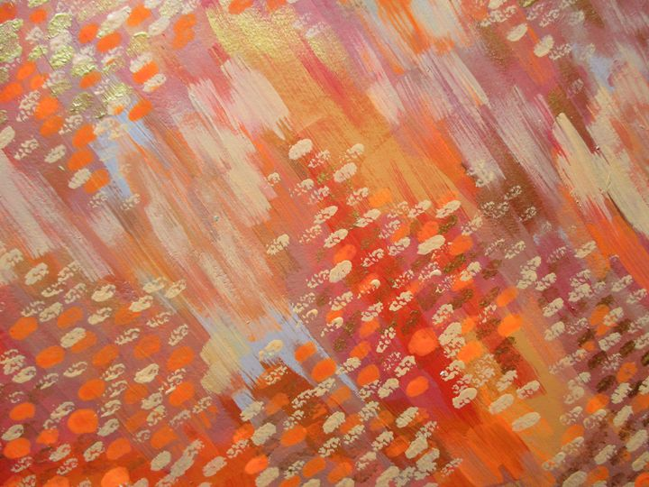 Sophisticated orange shades detail2 - Alexandra Luiza Dahl