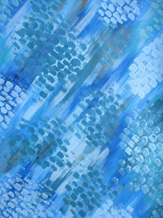 Just blue - Alexandra Luiza Dahl