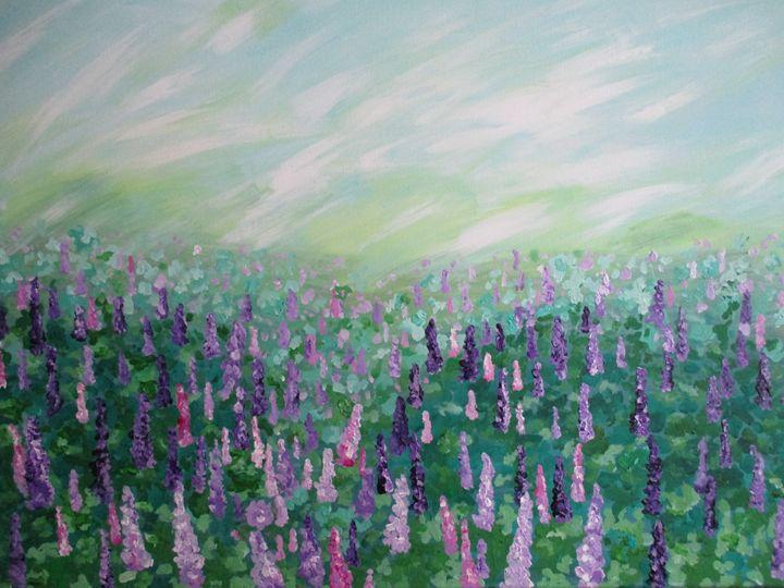 Lavender field - Alexandra Luiza Dahl