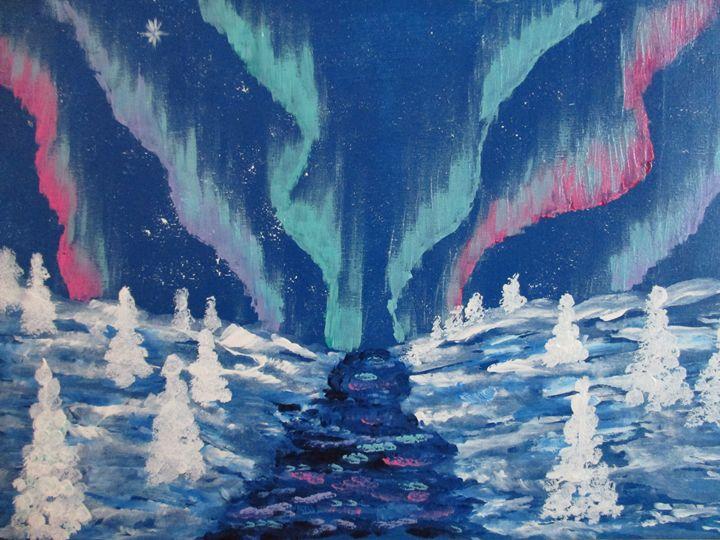 Aurora Borealis 2. - Alexandra Luiza Dahl