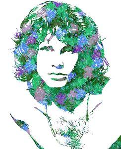 Portrait of Jim Morrison 3.