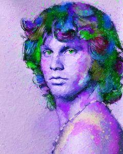 Portrait of Jim Morrison 2.