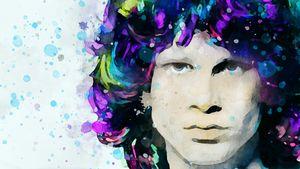 Portrait of Jim Morrison 1.