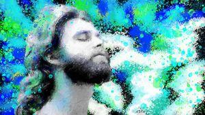 Portrait of Jim Morrison 4.