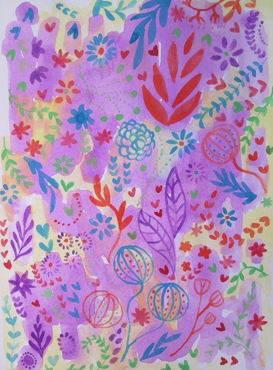 Field colors - Alexandra Luiza Dahl